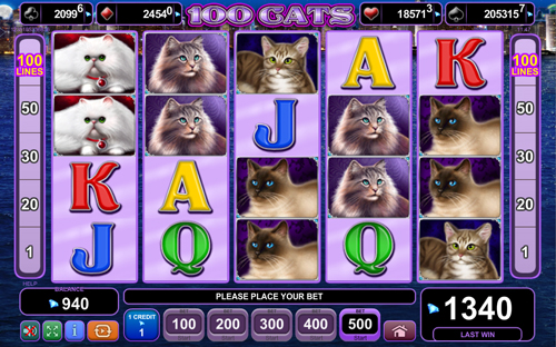 100-cats online slot