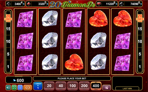 20-diamonds online slot