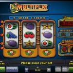5 Line Multiplay Novoline Spiel