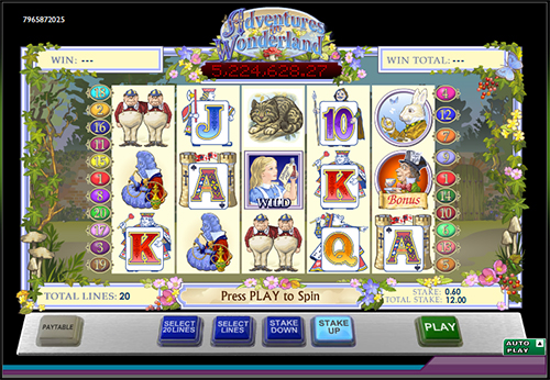 alice's online slot im 888 casino