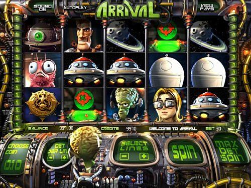 Arrival Spielautomat