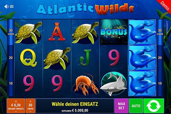Atlantic Wilds Slot Vorschau