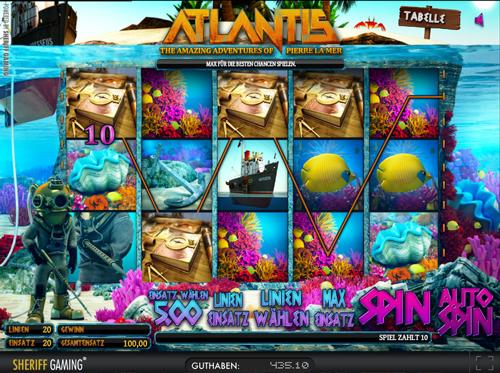 atlantis online slot im sunmaker casino