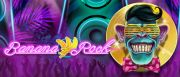 Banana Rock Slot Logo