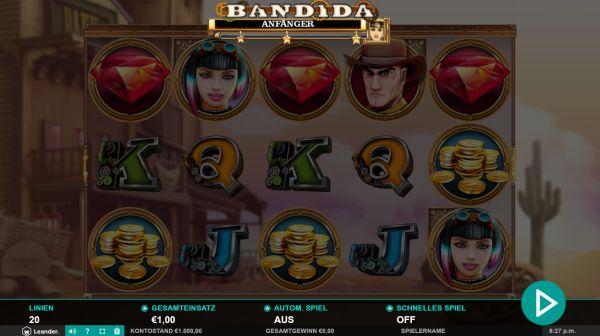 Bandida Slot Vorschau