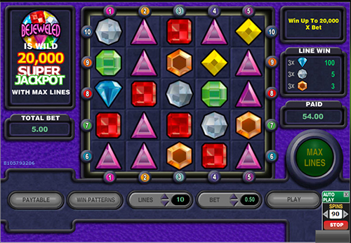 online spielautomat bejeweled im 888 casino
