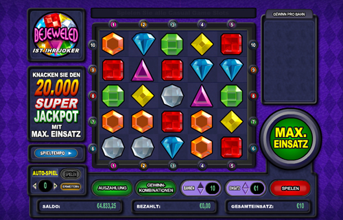 online slot bejeweled im intercasino
