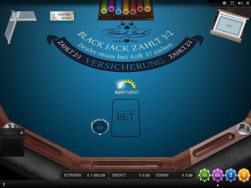 Blackjack Lucky Pair