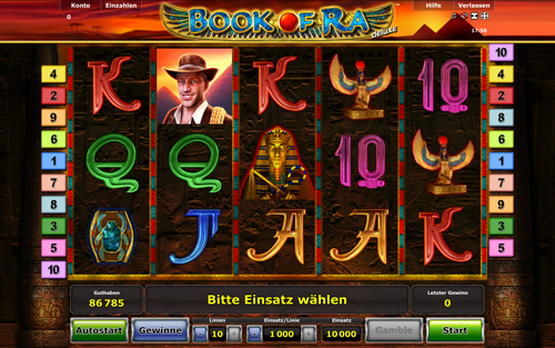 online casino slots wie funktioniert book of ra