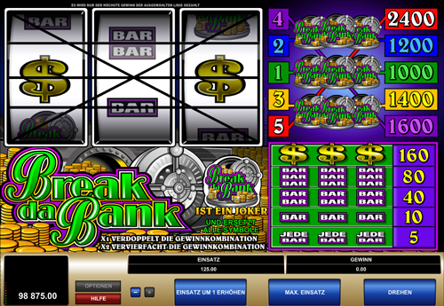 break-da-bank online slot