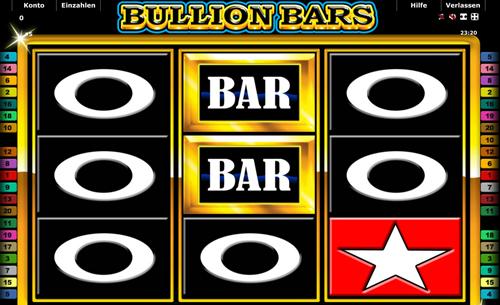 online slot bullion bars im stargames casino