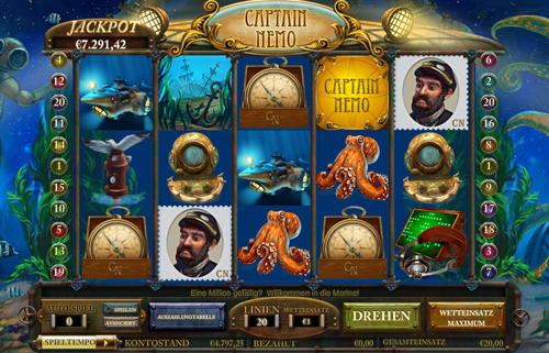 online slot captain nemo im intercasino