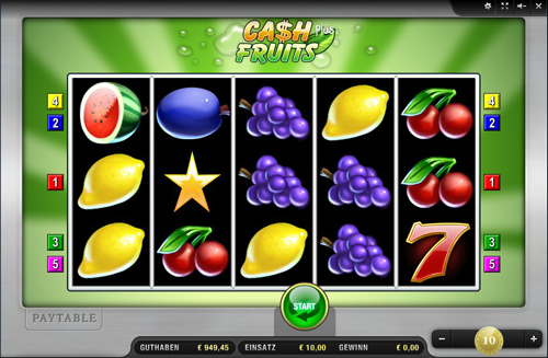 cash fruits plus online slot im sunmaker casino