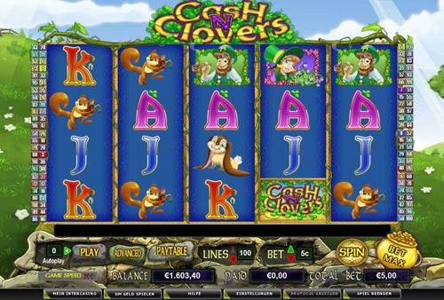 online slot cashn clovers