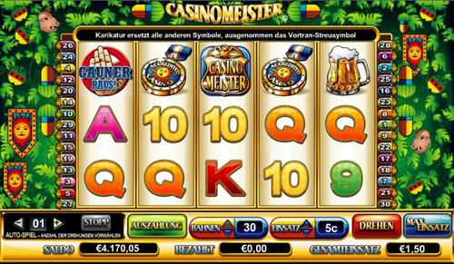casinomeister online slot im intercasino