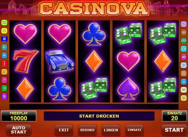 Casinova Slot Vorschau