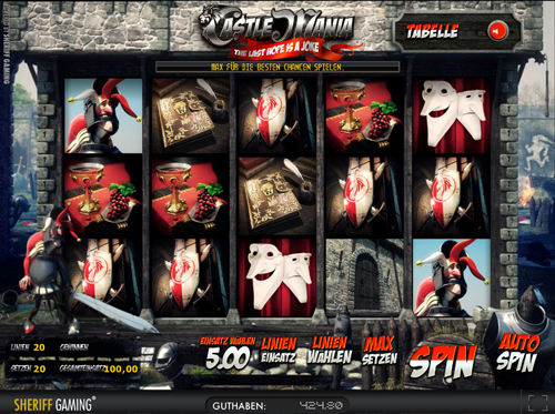 castle mania online slot in full hd im sunmaker casino