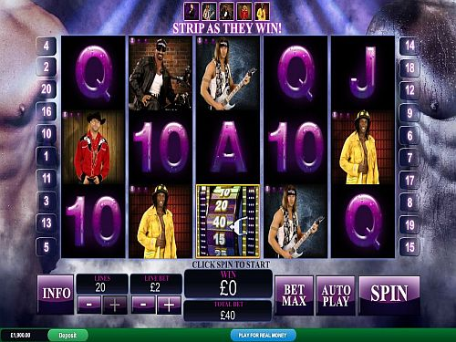 Chippendales Online Slot