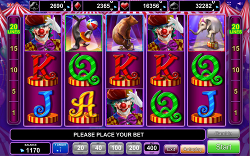 circus-brilliant online slot