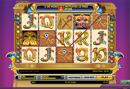 cleopatra online slot im 888 casino