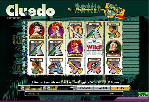 online slot cluedo im 888 casino