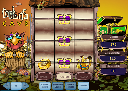 coblins cave multispin online slot im william hill casino