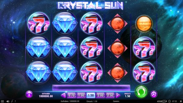 Crystal Sun Slot Vorschau
