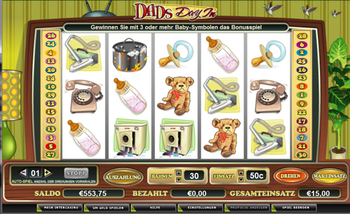 dads day in online slot im intercasino
