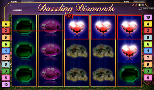 dazzling diamonds online slot im stargames casino