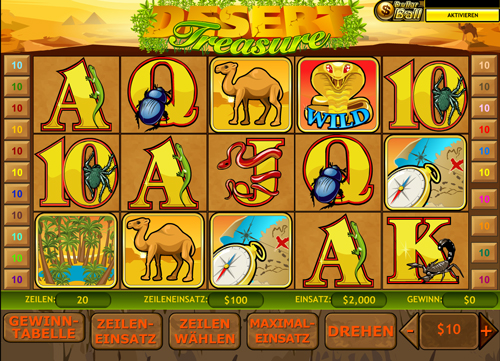 desert-treasure online slot