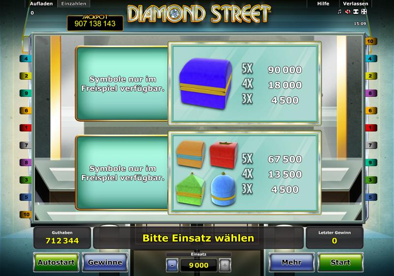 diamond street spielen