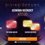 Divine Dreams Bonus