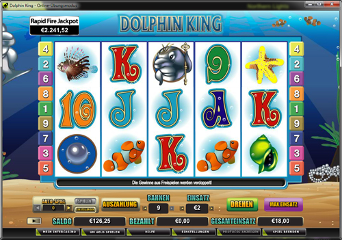 dolphin king online slot im intercasino
