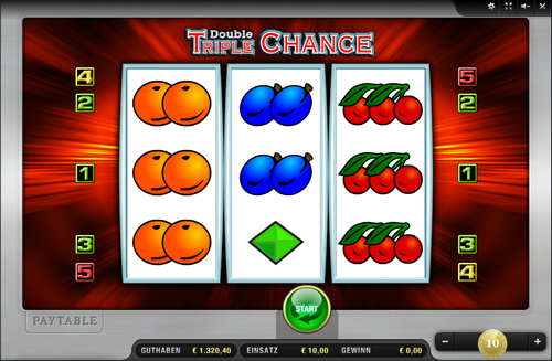 double triple chance merkur slot im sunmaker casino