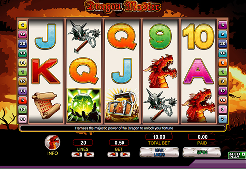 online slot dragon master im 888 casino