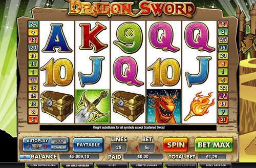 online slot dragon sword im intercasino