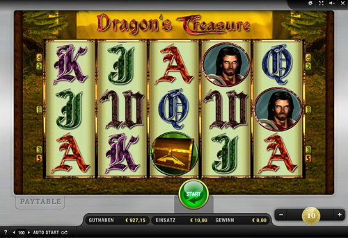 dragons treasure online slot von merkur