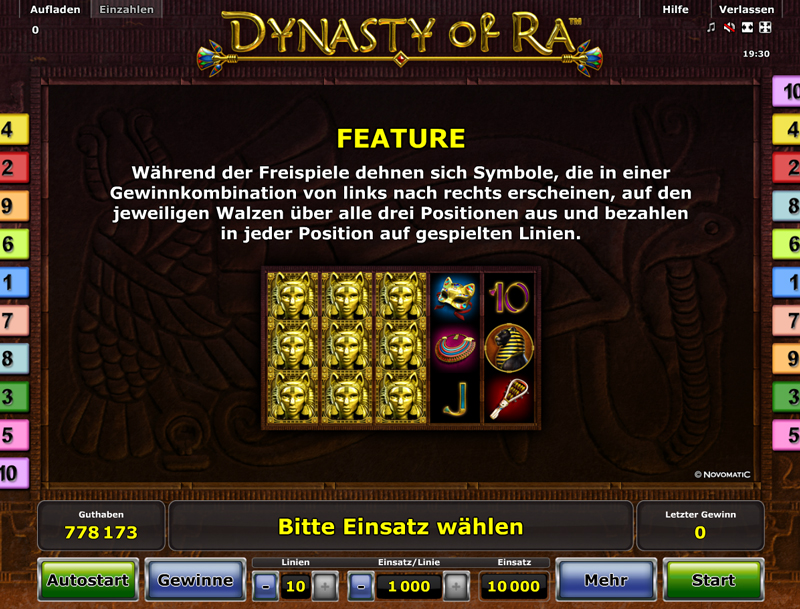 karamba online casino ra sonnengott