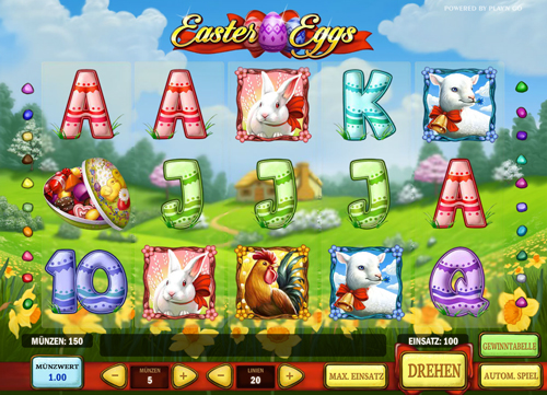 easter-eggs online slot