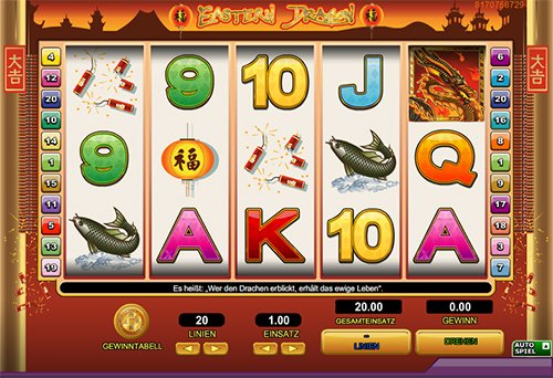 online slot eastern dragon im 888 casino