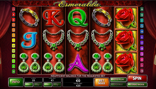 esmeralda online slot