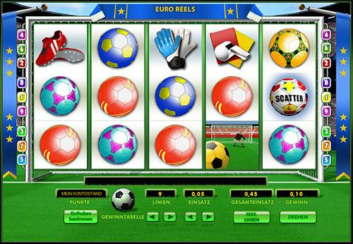 online slot euro reels im 888 casino