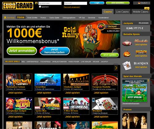 casino 1000 euro willkommensbonus