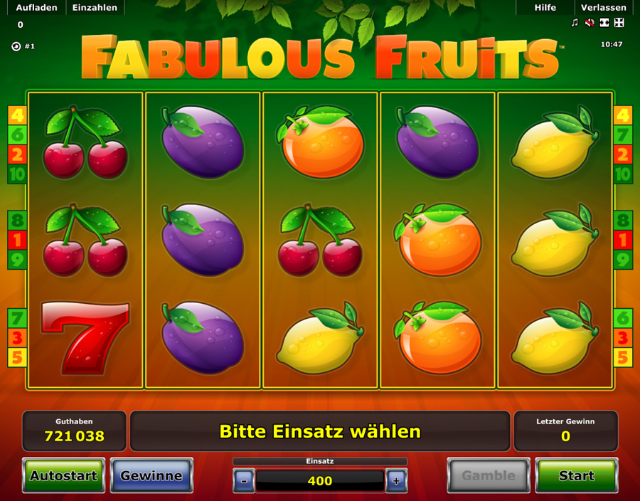 novoline online casino spiele fruits