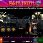 Fancy Fruits Golden Nights Bonus Jackpot