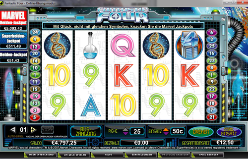 online slot fantastic four im intercasino