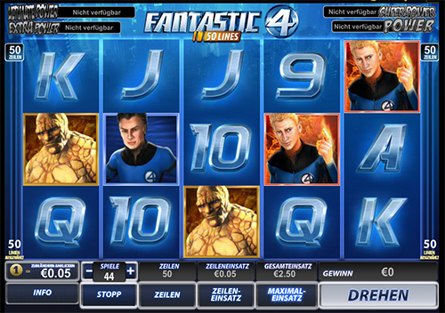 fantastic four online slot