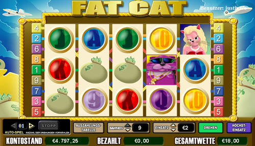 online slot fat cat im intercasino