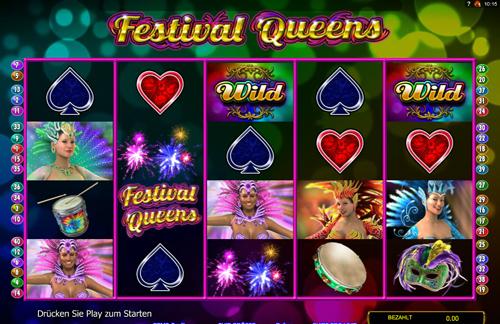 festival-queens online slot