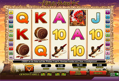 online slot fire hawk im 888 casino